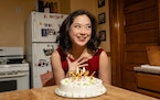 """Katie Bradley stars in """"Today Is My Birthday"""" from her home. Rich Ryan"""
