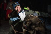 Erin Letzring won the John Beargrease Sled Dog marathon by the smallest margin in the race's history. She beat out ex-husband Ryan Redington by seve