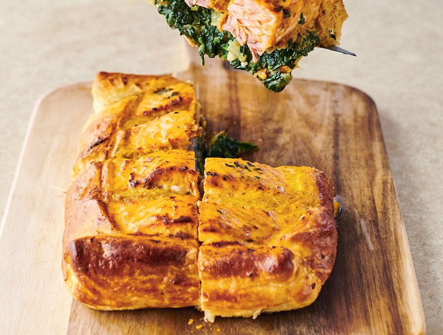 Sunday Supper Easy Salmon En Croute Star Tribune