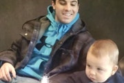Anthony Legato with his son Vincent. Legato was shot and killed Oct. 9 by a Pine County deputy.