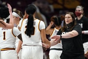 Lindsay Whalen (shown during a game earlier this season) has tried an assortment of approaches to get her team to play better in the second half this