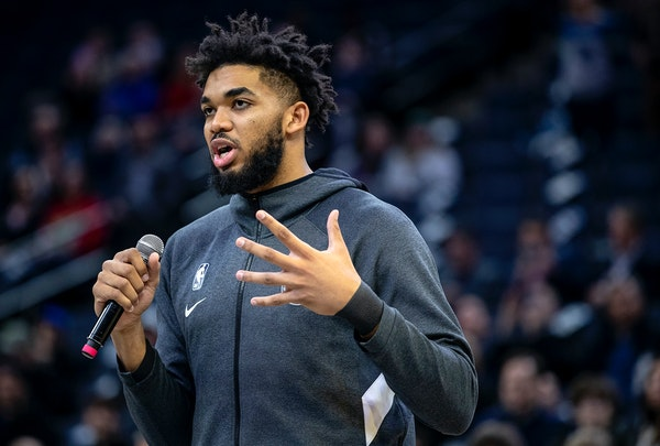 Karl-Anthony Towns has played for five head coaches in his seven seasons with the Timberwolves.