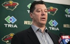 Minnesota Wild General Manager Bill Guerin.