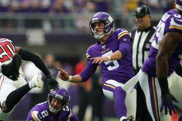 Minnesota Vikings kicker Dan Bailey