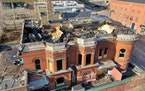 A fire in November destroyed and collapsed the roof of the Pastoret Terrace building in downtown Duluth.