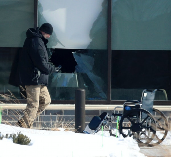 A shooting at the Allina Health clinic on Tuesday in Buffalo, Minn., left one person dead and four wounded, authorities said.