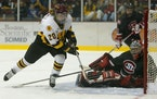 Natalie Darwitz scored a school record 246 points, including 102 goals, in 99 games for the Gophers. Her collegiate career was only eclipsed by her in