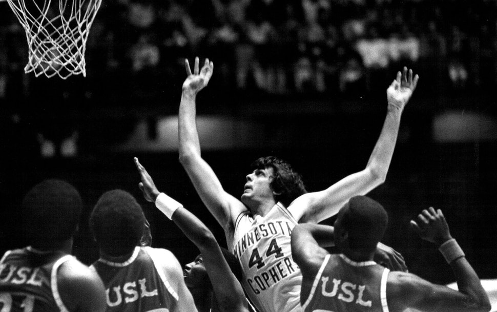 McHale's legacy climbed from Hibbing to the University of Minnesota (where he was voted the greatest player in school history) to the NBA where he e