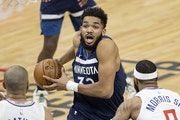 Karl-Anthony Towns provided a spark for the Wolves, returning after nearly a month.