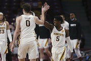 Marcus Carr and Liam Robbins have been carrying the Gophers. Who else will step up as a third threat?