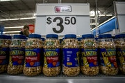 Hormel is buying the Planters nuts business of Kraft Heinz for $3.35 billion, the biggest purchase in Hormel's history.