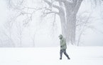"Scott Boie, on a walk around Lake Nokomis, said ""There is no such thing as bad weather only inappropriate clothing."""