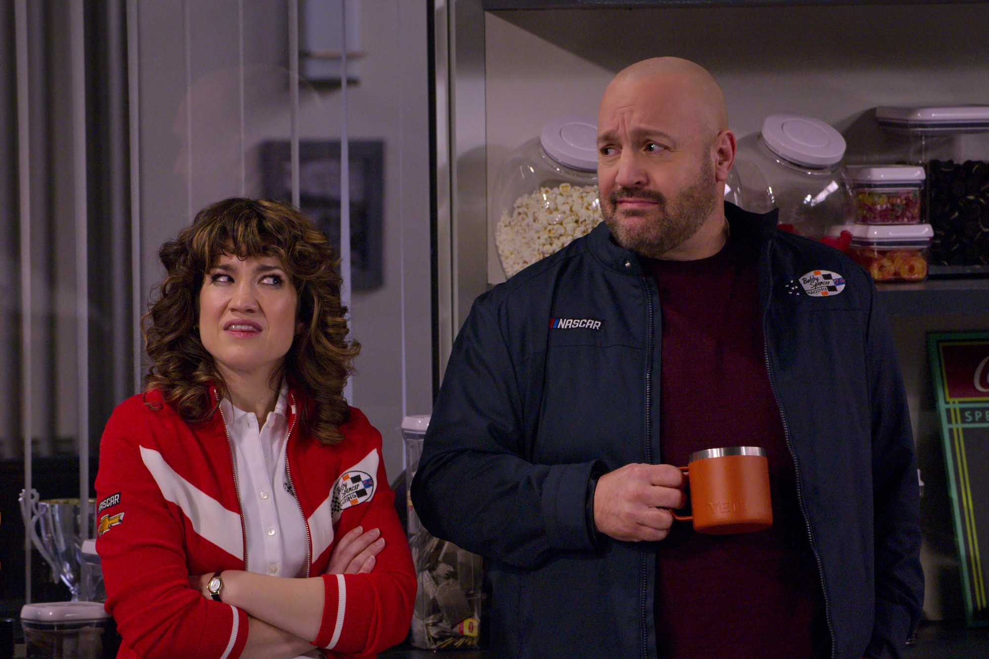 'The Crew' features Sarah Stiles and Kevin James.