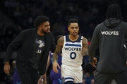D'Angelo Russell and Karl-Anthony Towns have only played five games together since Russell was acquired in a trade last February.