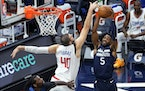 Timberwolves guard Malik Beasley (5) said his campaign for more playing time was not meant as a criticism of the coaching staff.
