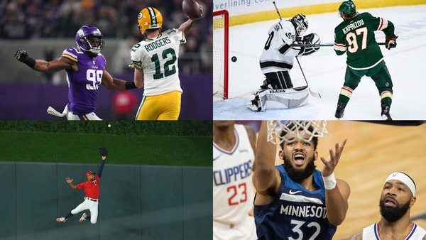 How local players such as (clockwise from upper left) Danielle Hunter, Kirill Kaprizov, Byron Buxton and Karl-Anthony Towns fare will go a long way in