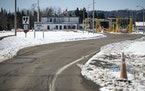 FILE-The Grand Portage Point of Entry on the U.S. border with Canada closed to nonessential travel in March last year to slow the spread of COVID-19 a