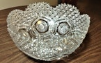 This cut glass bowl looks like work by Hawkes Co.