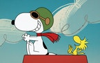 """Snoopy and Woodstock on the original series """"The Snoopy Show."""""""