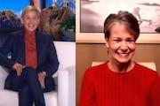 Falcon Heights teacher, Kelly Klein on the 'Ellen' show.