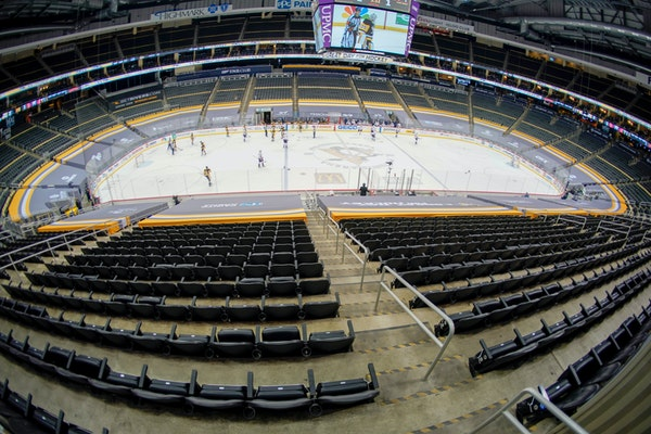 PPG Paints Arena in Pittsburgh will be the site of the 2021 NCAA men's Frozen Four on April 8 and 10.