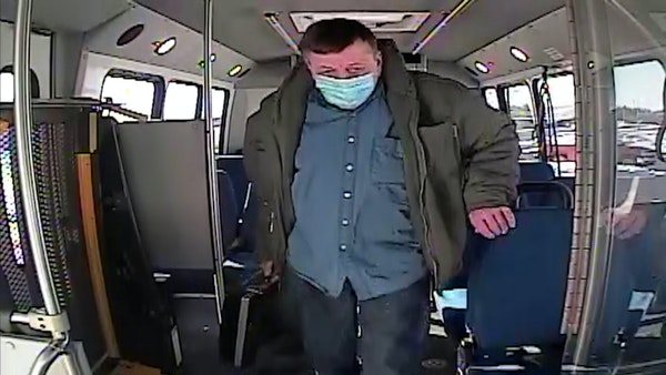 Video shows Allina shooting suspect taking bus to Buffalo clinic