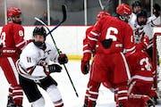Eden Prairie boys' hockey hands Benilde-St. Margaret's first loss of the season