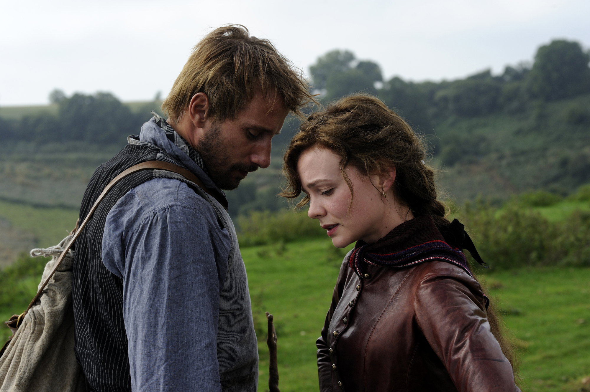 Matthias Schoenaerts and Carey Mulligan in 'Far From the Madding Crowd.'