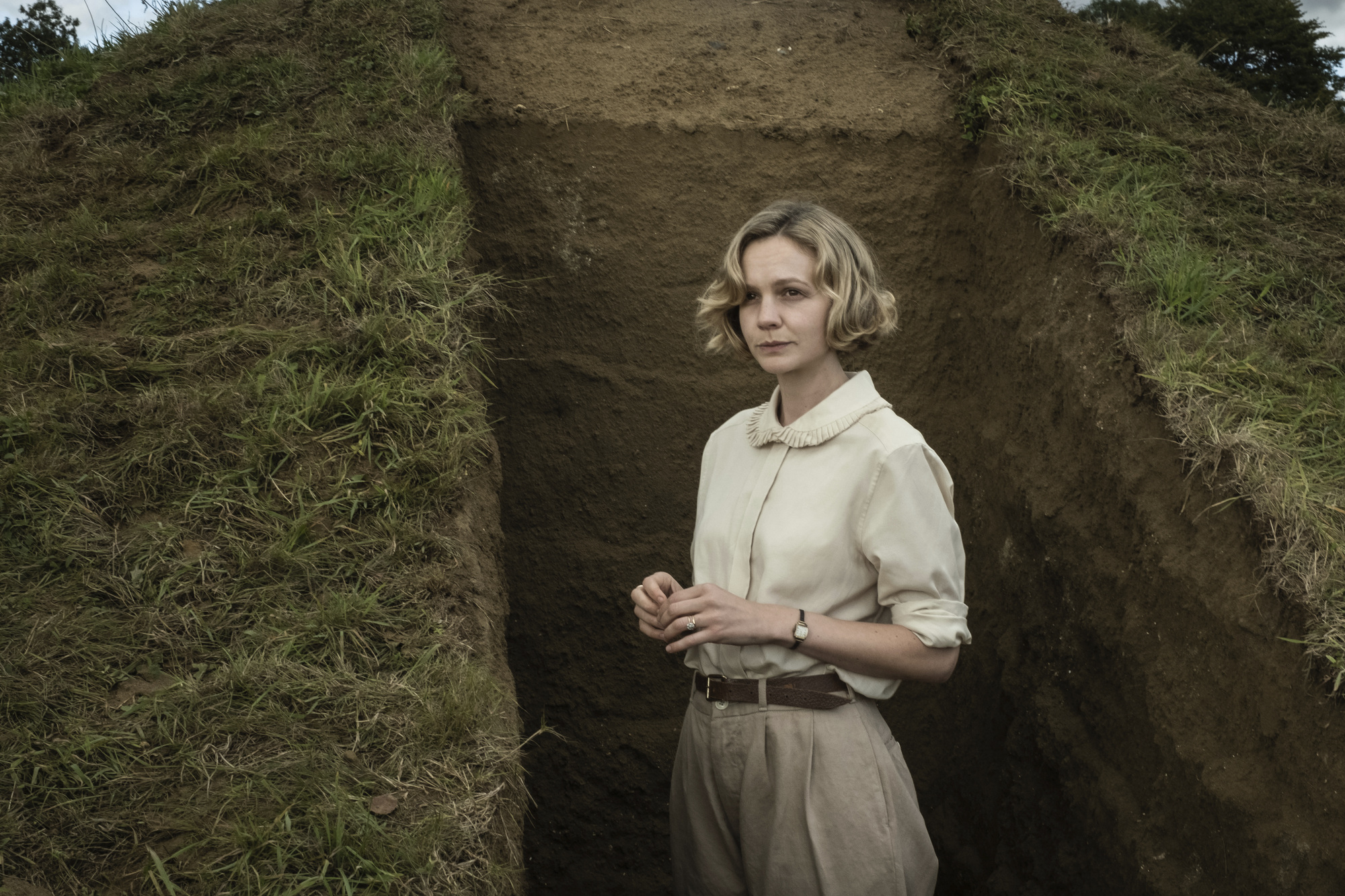 Carey Mulligan in 'The Dig.'