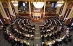 The opening day of the Iowa Legislature on Jan. 11, 2021.