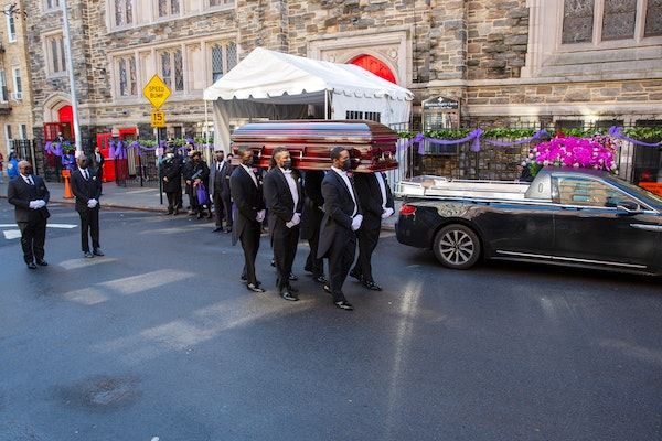 Cicely Tyson's funeral brings mourners to Harlem