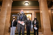 House Majority Leader Ryan Winkler introduced a bill to legalize adult-use cannabis in Minnesota, along with Rep. Jessica Hanson, Sen. Melisa Lopez Fr