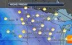 Calm But Still Chilly Friday - Warming Up This Weekend