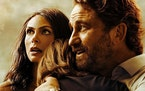 """Morena Baccarin and Gerard Butler in """"Greenland."""""""
