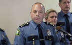 """St. Paul Police Chief Todd Axtell says he wants candidates who go into policing for the """"right reason."""""""