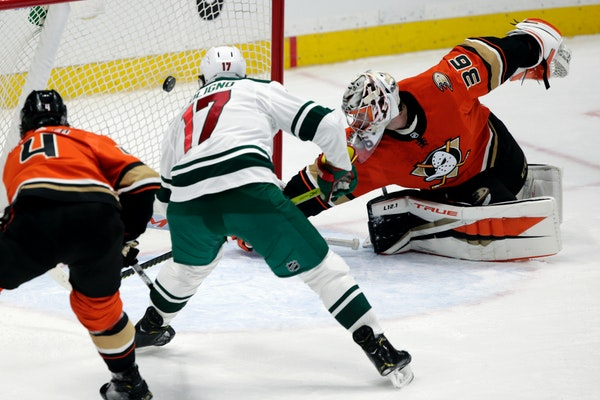 Plenty left to work on, but Wild pleased with 3-1 victory over Anaheim