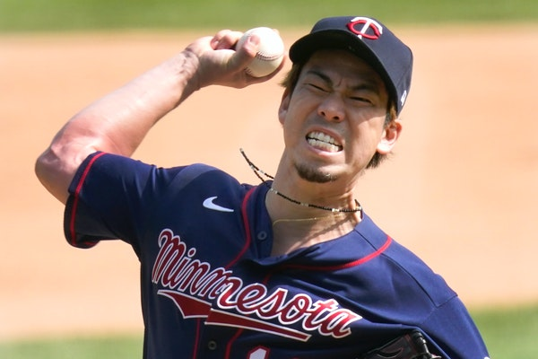Kenta Maeda had an outstanding first season with the Twins, going 6-1 with a 2.70 ERA to finish second in the AL Cy Young voting.