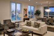 Ryan Companies The Design Center for Eleven on the River showcases full kitchens and room vignettes that display the three curated design packages ava