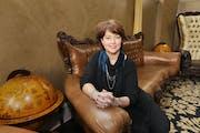 Sara Ausman, Twin Cities regional president of North Dakota-based Alerus Financial. She runs the business from downtown Minneapolis on 6th Street.