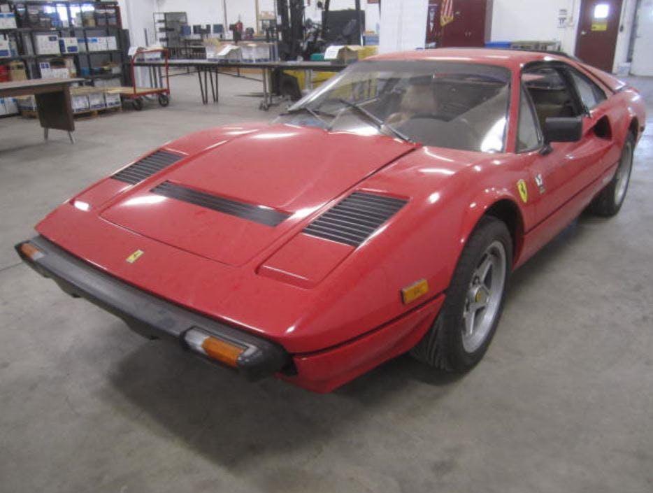 Burnsville Drunken Driving Arrest Ends With Vintage Ferrari On The Auction Block Star Tribune