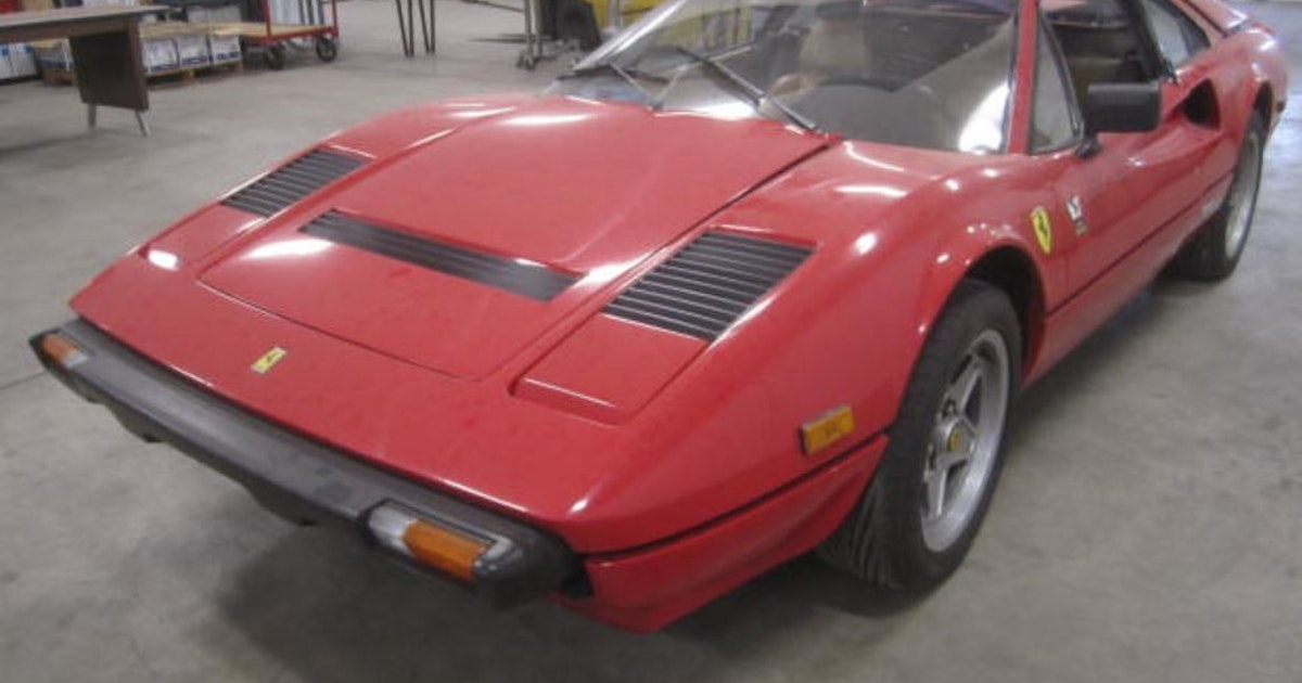 Burnsville drunken driving arrest ends with vintage Ferrari on the auction block