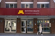 This file photo shows Boynton Health at the University of Minnesota where students can seek mental health care. ANTHONY SOUFFLE • anthony.souffle@st