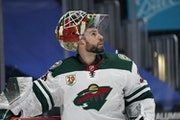 Wild goalie Cam Talbot has played in only two games since Jan. 22 and six overall this season.