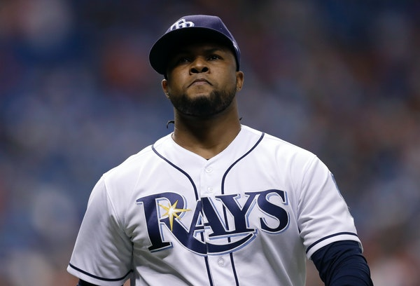Alex Colome previously pitched for the Rays while Rocco Baldelli was Tampa Bay bench coach.
