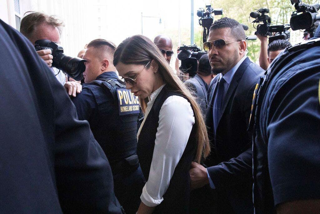 Wife of drug kingpin 'El Chapo' arrested on US drug charges | Star Tribune