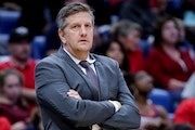 Chris Finch has never been a head coach in the NBA, but he took over coaching the Pelicans last season after Alvin Gentry was ejected. Finch served as