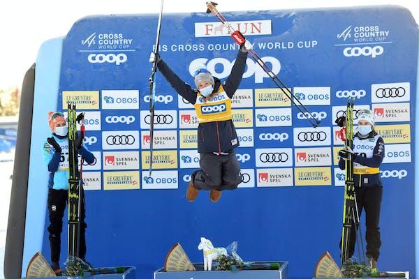 Jessie Diggins enjoying banner year heading into world championships