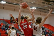 Centennial girls' basketball squeezes by Maple Grove 63-60 in overtime