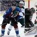 Versatile star Nathan MacKinnon of Colorado and Wild rookie Kirill Kaprizov are the feature attractions of the top lines in tonight's Wild-Avs game.