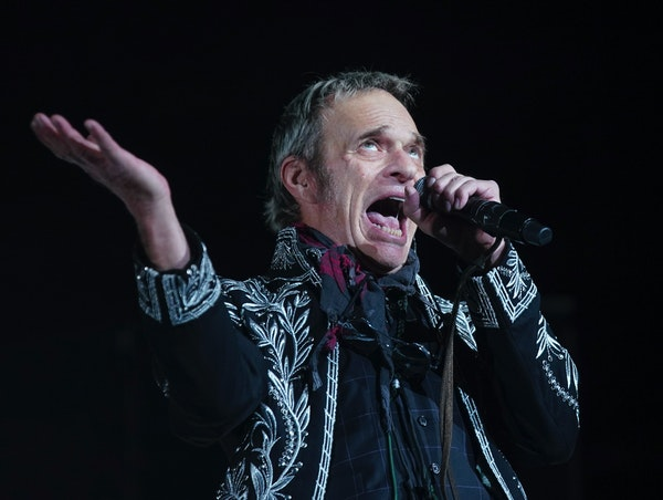 Gimme a break, Dave! Former Van Halen frontman David Lee Roth co-headlined the last pre-pandemic concert at Xcel Energy Center on Feb. 24, 2020.
